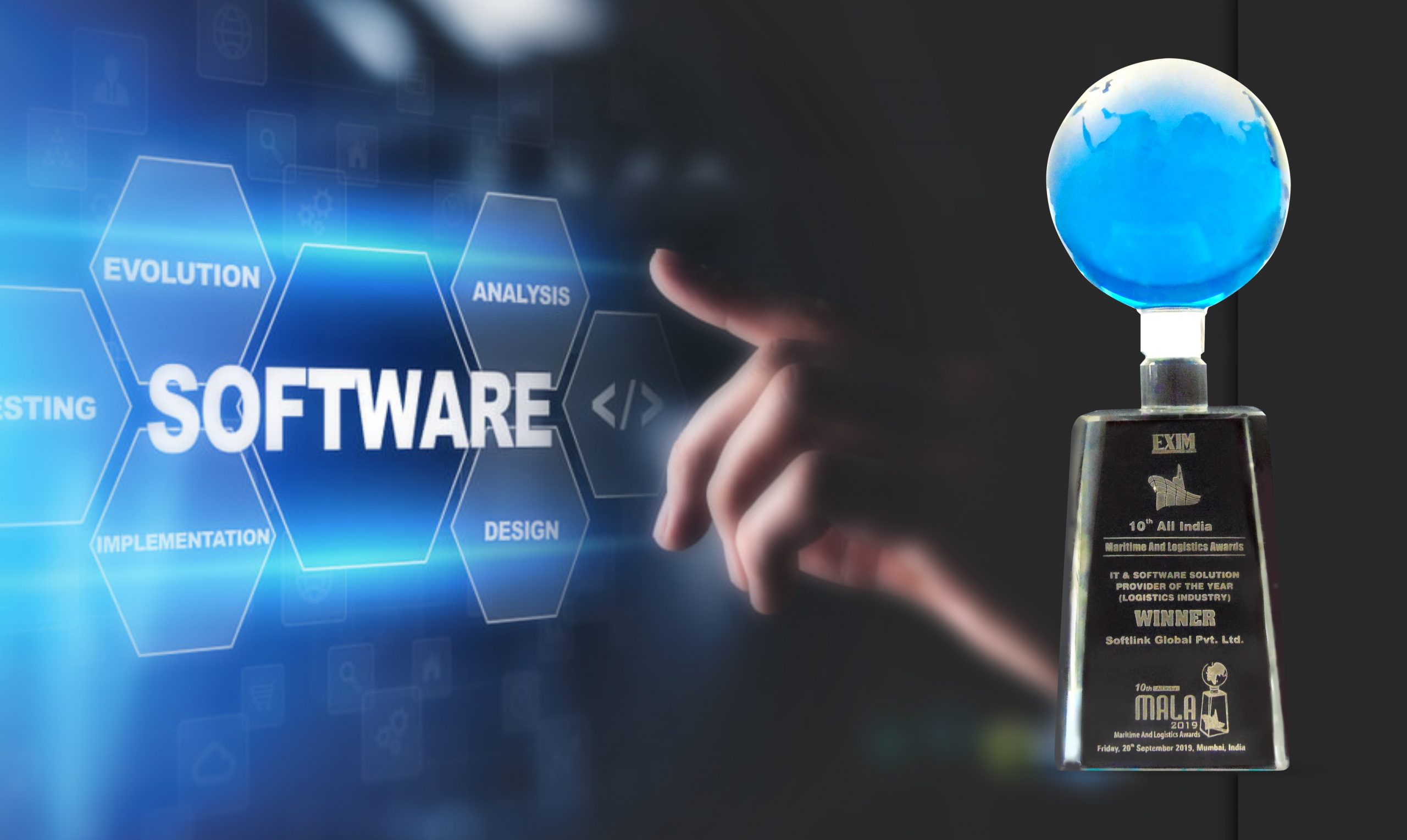 Softlink adjudged the best IT & Software company at MALA 2019